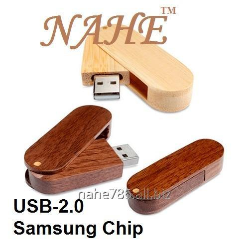 4gb Wooden Twister USB Flash Drive