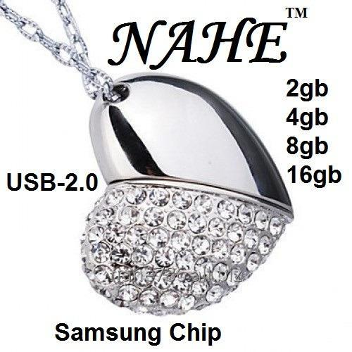 Buy 4gb Heart Shape USB Flash Drive