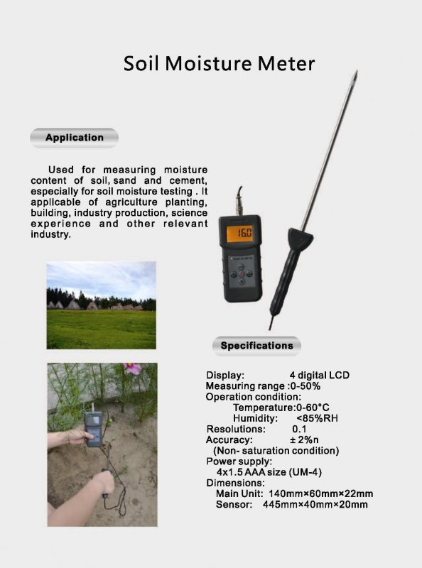 Buy Soil, Sand, Cement Moisture Tester.