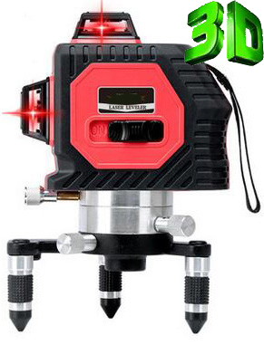 Buy 3D (12 Lines) Laser Level 360 Vertical & Horizontal.