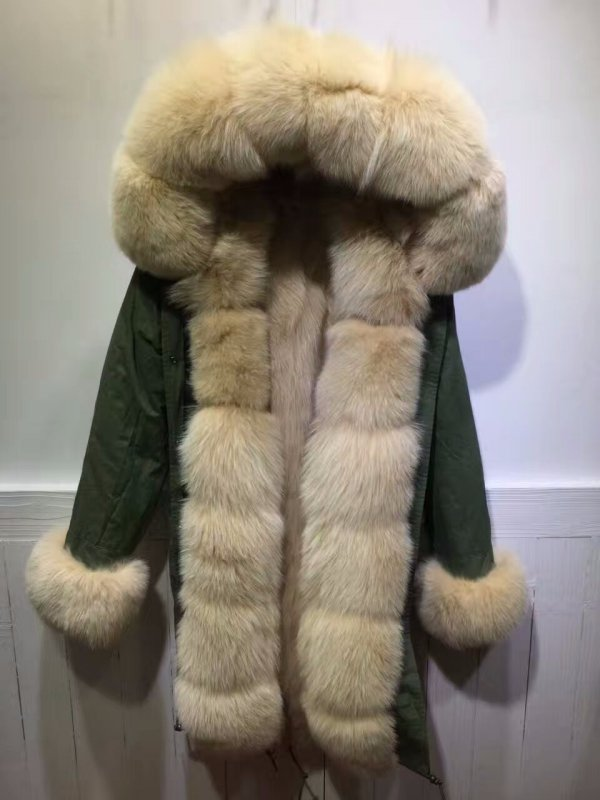 Buy Women's Parka Jacket (with Real Fur lining)