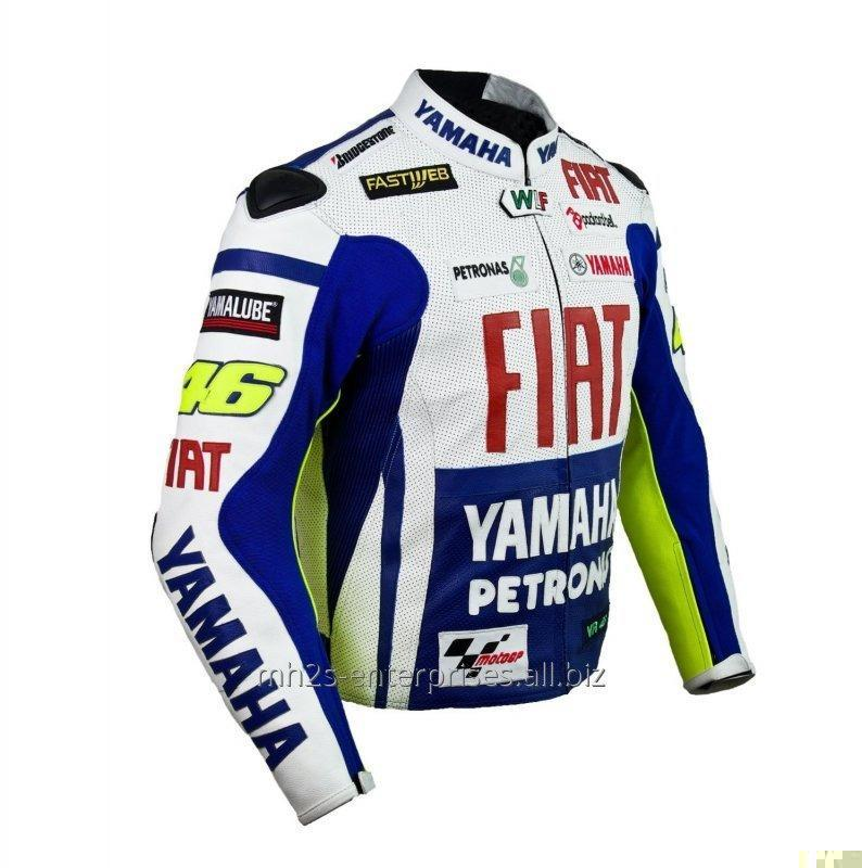 Buy Racing D1 Leather Motorcycle Jacket D1