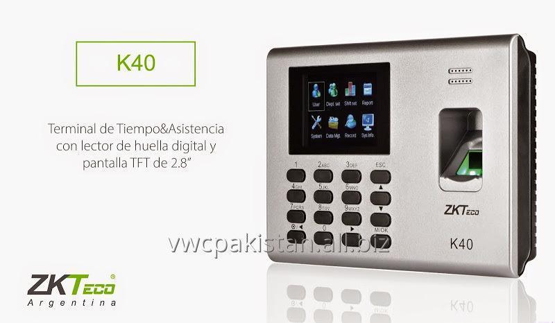 Buy Zkteco K40 Time & Attendance Terminal