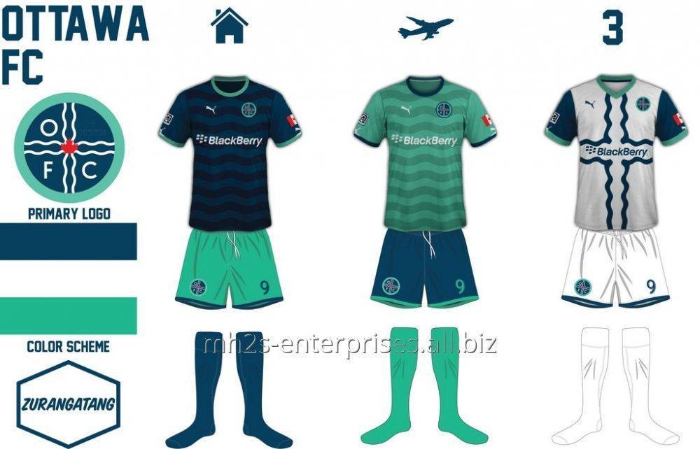 Buy Soccer/football Sportswears Uniform with logo