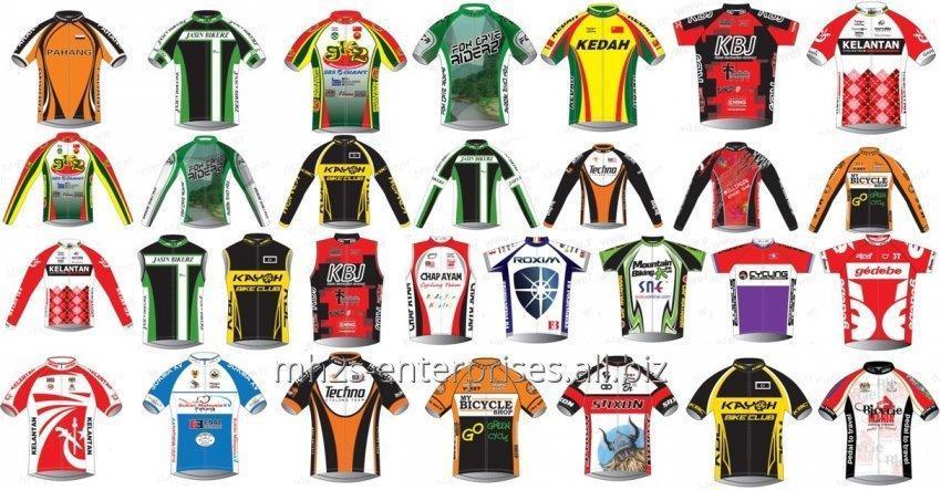Buy Sports Cycling Uniform shirts with logo