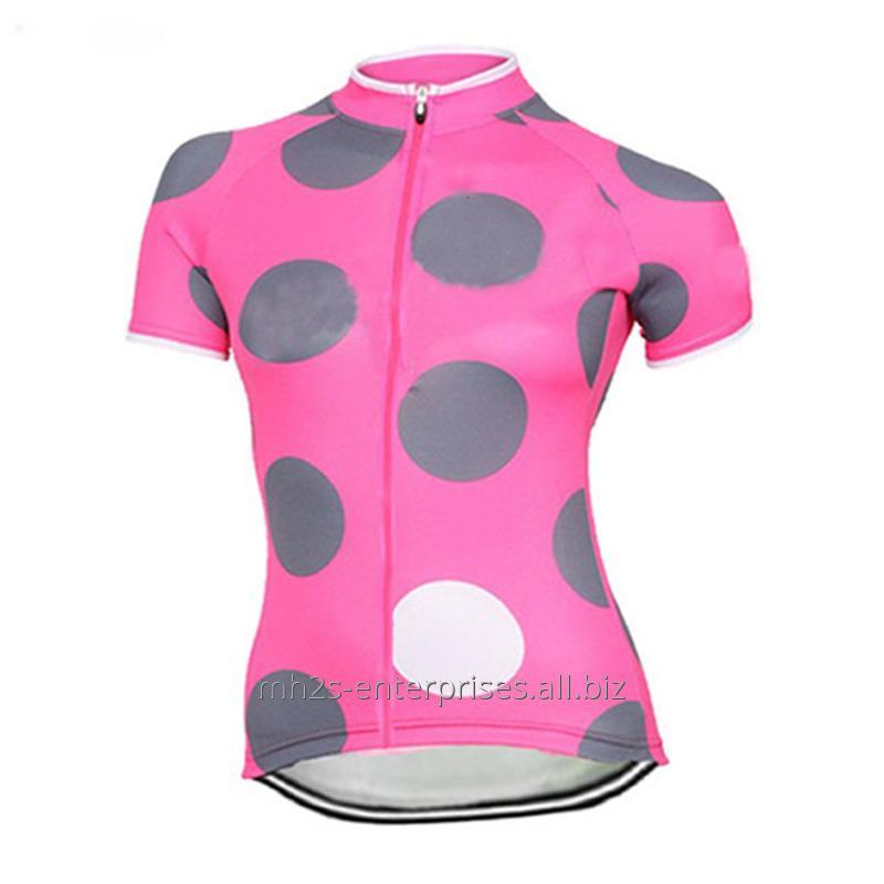 Buy Women Sportswear Cycling shirts with logo