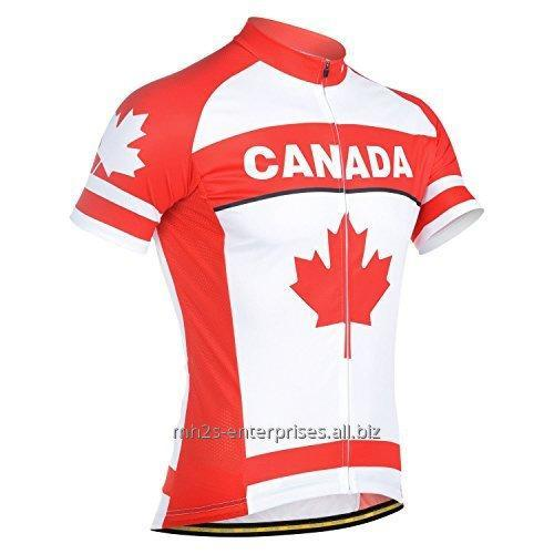 Buy Cycling Sportswear jersey Flag with logo