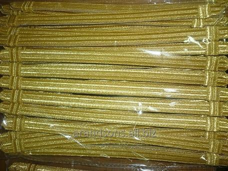 Buy Gold Mettalic Cap Cord
