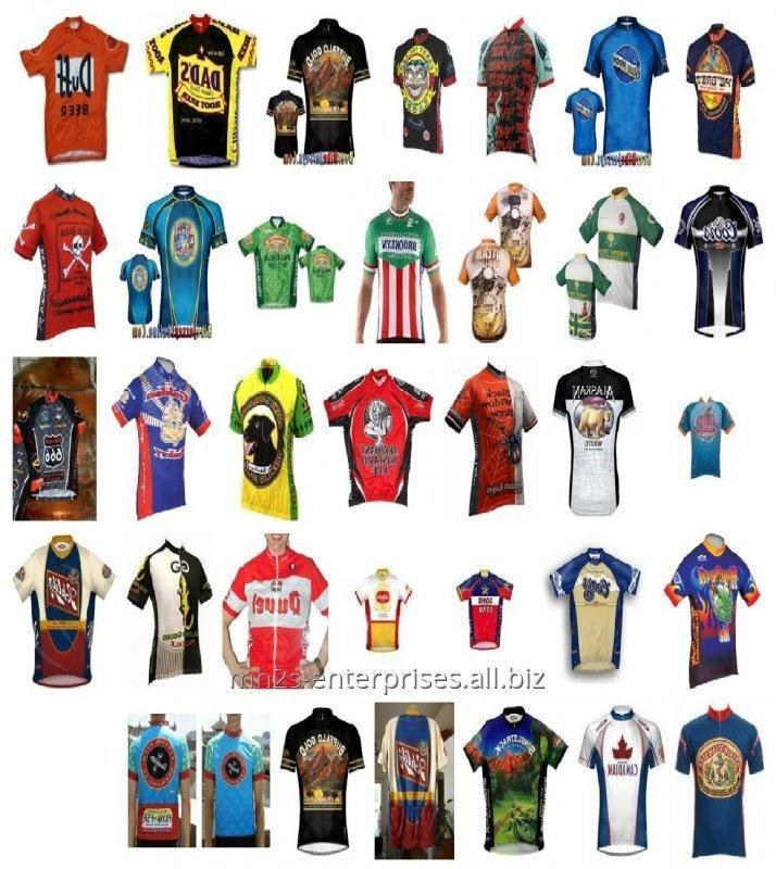 Buy Custom cycling shirt maker sublimated sports jersey new model