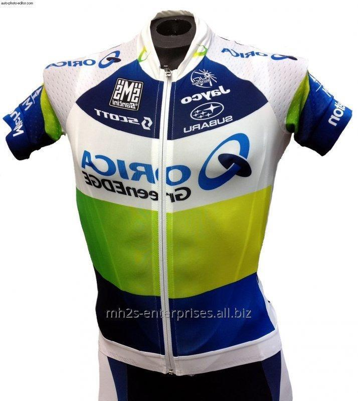 Buy Cycling shirt custom sublimated sports jersey new model