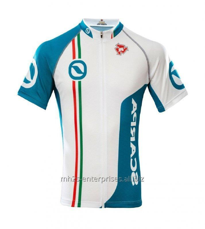Cycling riding shirt maker sublimated sports jersey