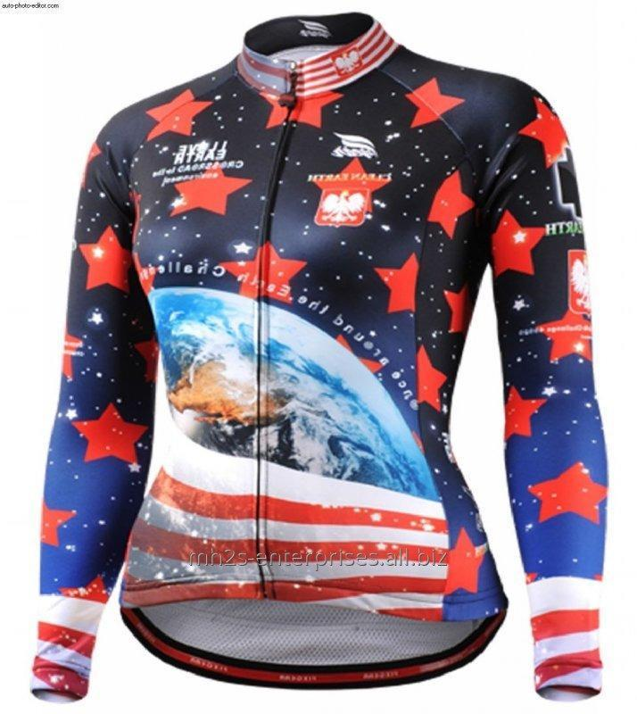 Buy Cycling riding shirt maker sublimated sports jersey new model