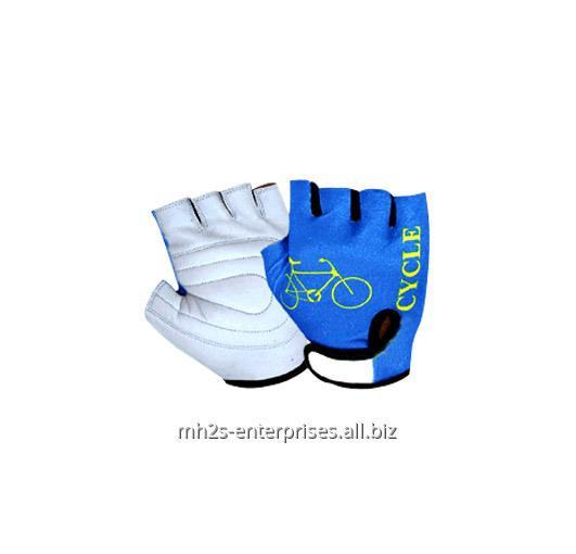 Buy Custom cool sublimation road cycling gloves leather biker gloves