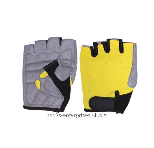Cycling gloves/synthetic leather biker gloves