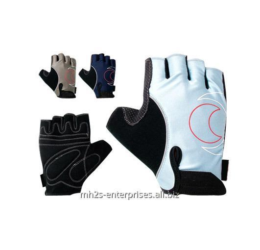 Buy Custom Cycling gloves synthetic leather biker gloves