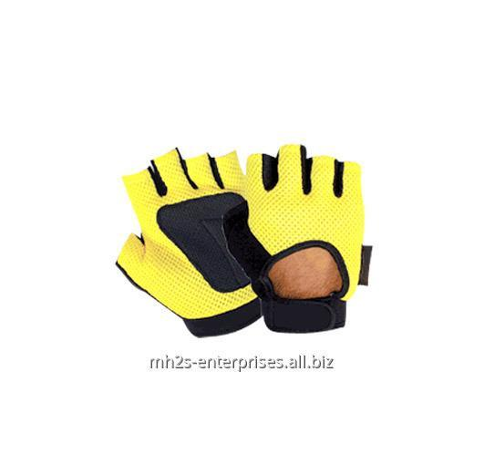Buy Cycling gloves / synthetic leather biker gloves