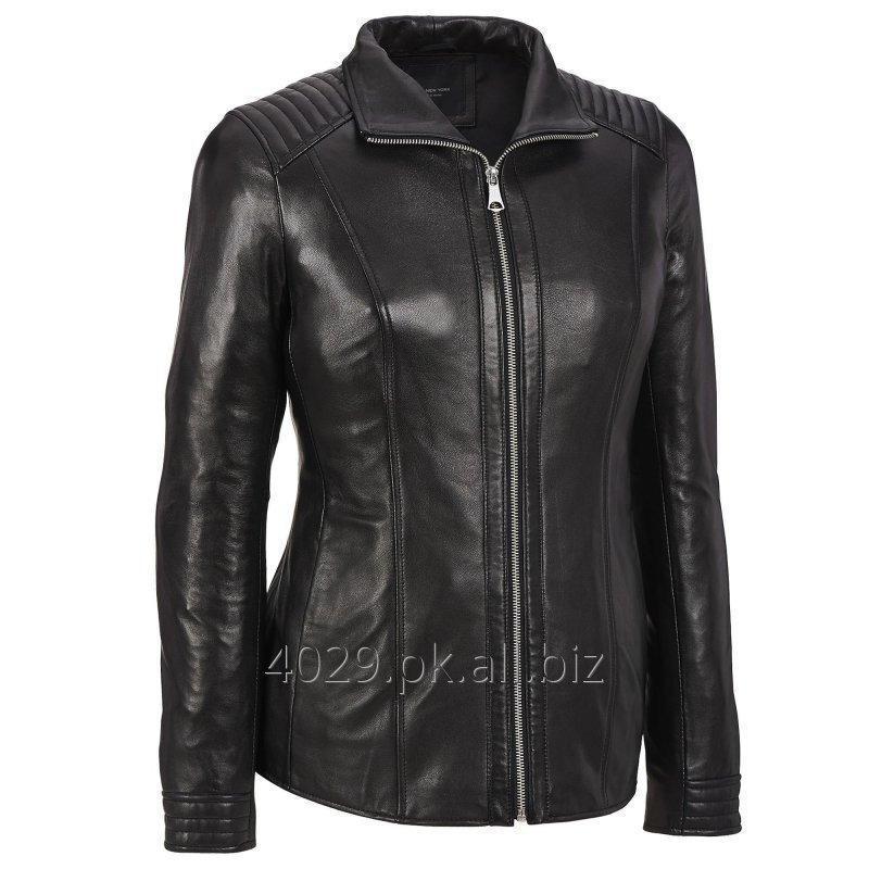 Women leather jacket buy in Sialkot 9934615820ac