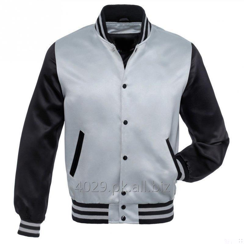 Buy MEN SATIN BOMBER JACKET