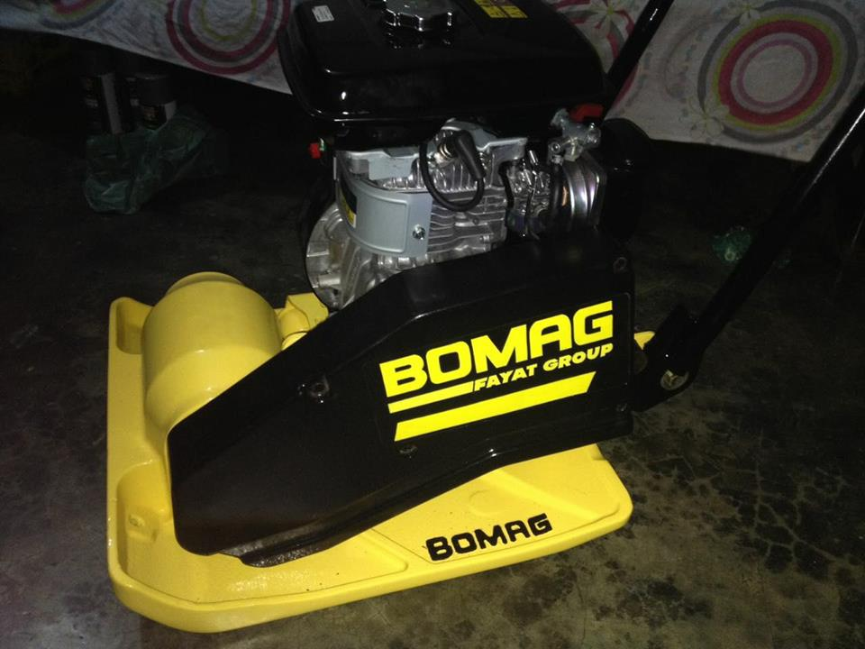 Buy Plate Compactor Bomag Germany
