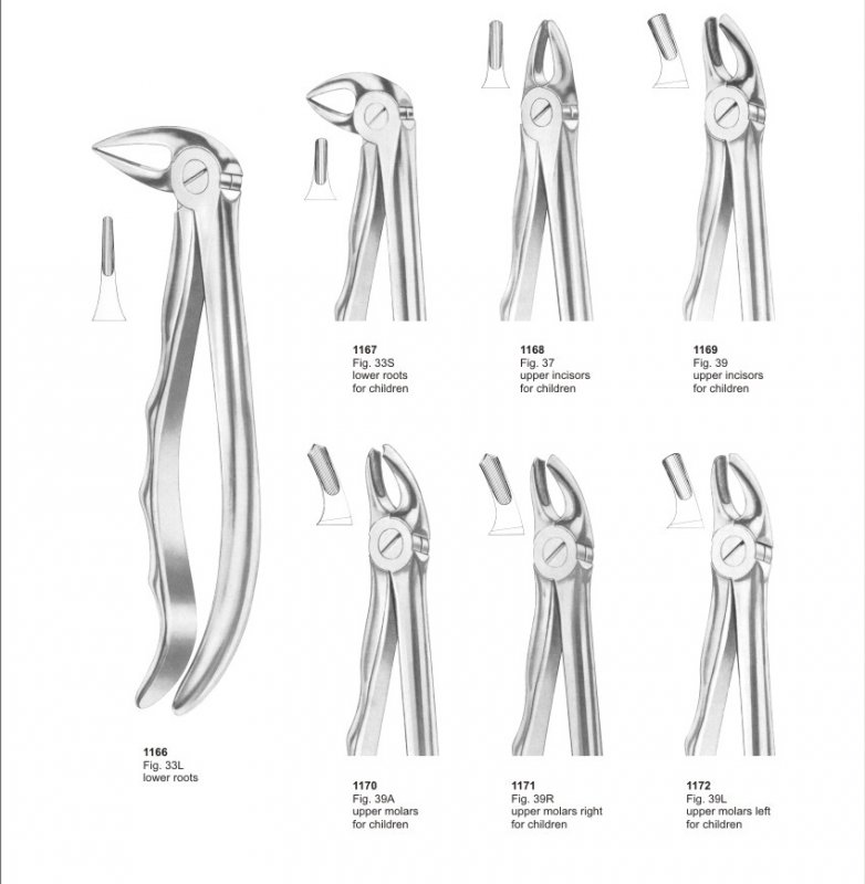Buy Extracting Forceps Surgical Dental instruments For Pak surgical