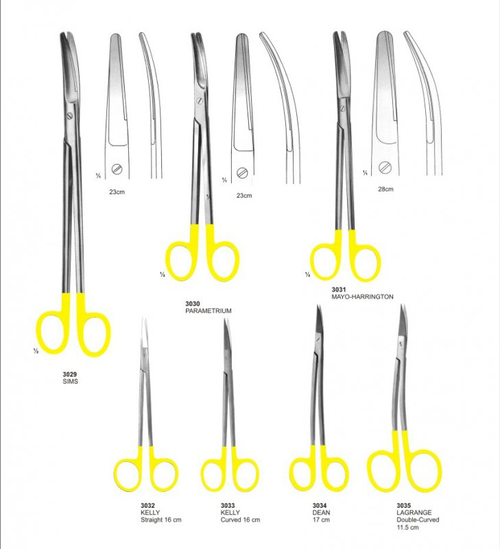 Buy Scissors With Tungsten Carbide instruments pak surgical Manufacturers