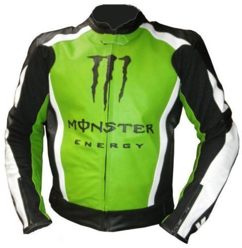 Buy Kawasaki Biker Leather Racing Jacket