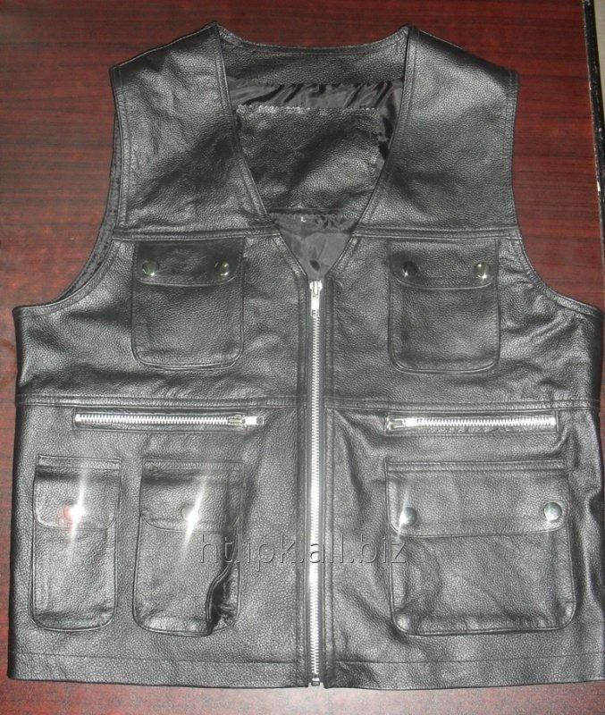 Buy Motorcycle Vest Leather