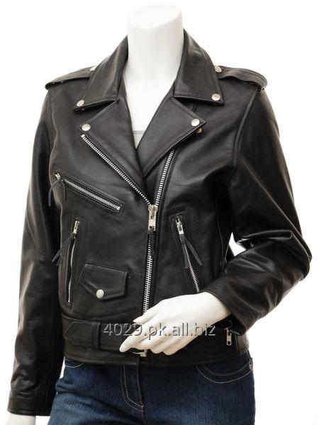 Buy REAL LEATHER LADIES JACKET