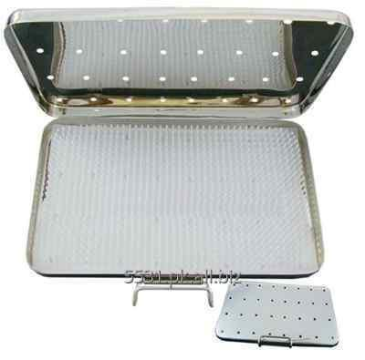 Buy STERILIZATION CASSETTE WITH SILICONE PAD FOR SURGICAL INSTRUMENTS