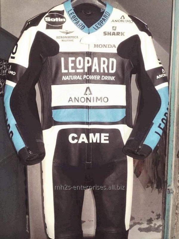 Buy Custom size leather racing suit Motorbike