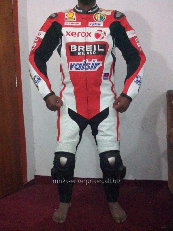 Buy Custom design leather racing suit Motorbike