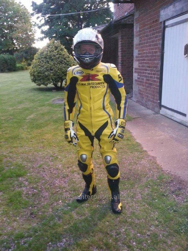 Buy Motorbike leather customized size Racing Suit offer