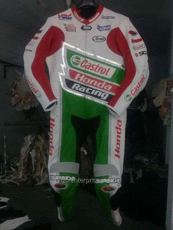 Buy Motorbike leather custom design Racing Suit offer