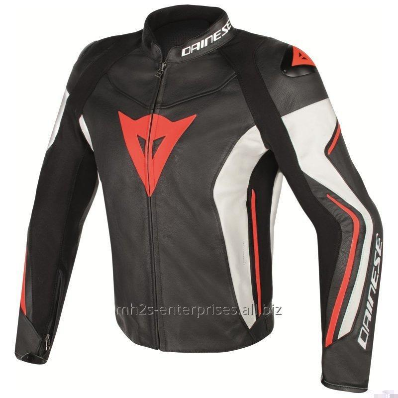 Buy Avro Leather Motorbike Jacket offer custom design