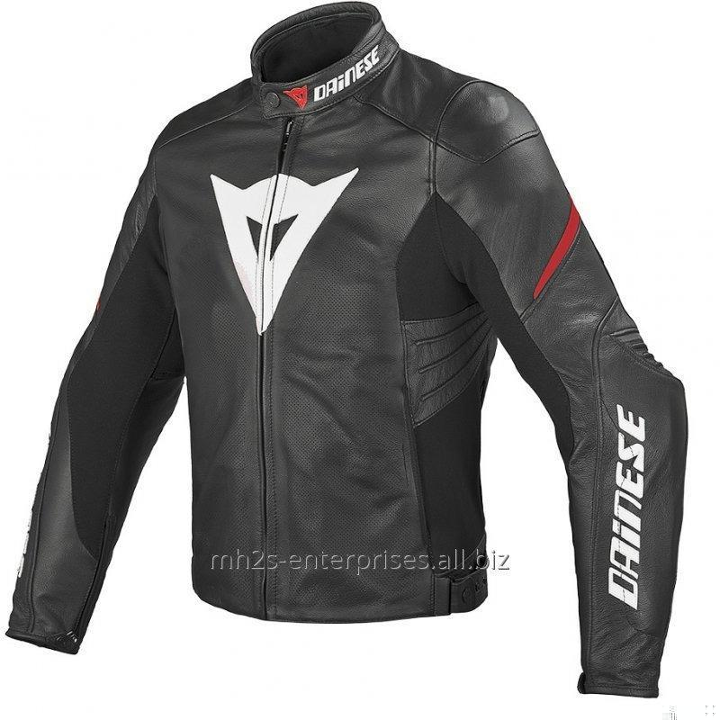 Buy Motorcycle leather Jacket offer custom design/size