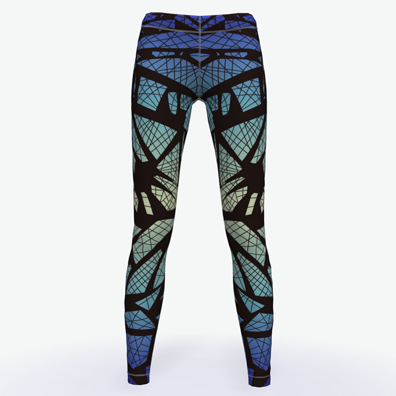 Buy Wholesale fitness clothing Women Compression Leggings ladies Yoga pants Workout Ladies Gym Tights