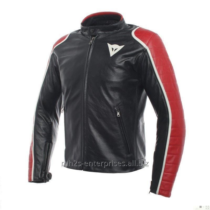 Buy Shine leather Motorcycle Jacket Fashion