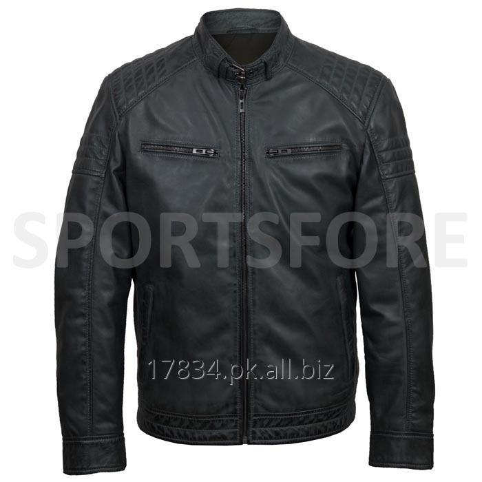 Buy 100% Genuine Leather Jackets For Men