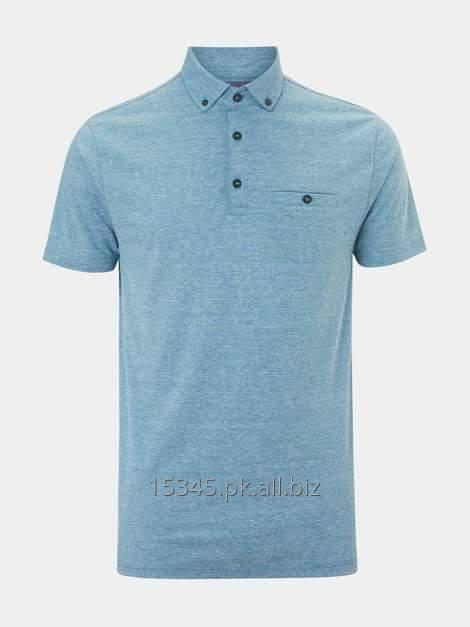 Buy Short sleeve polo with chest pocket.