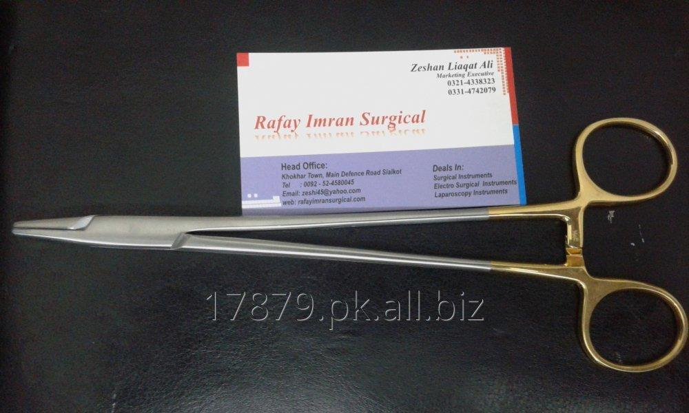 Buy Needle Holder Mayo Hagar German Tc Tip 20cm