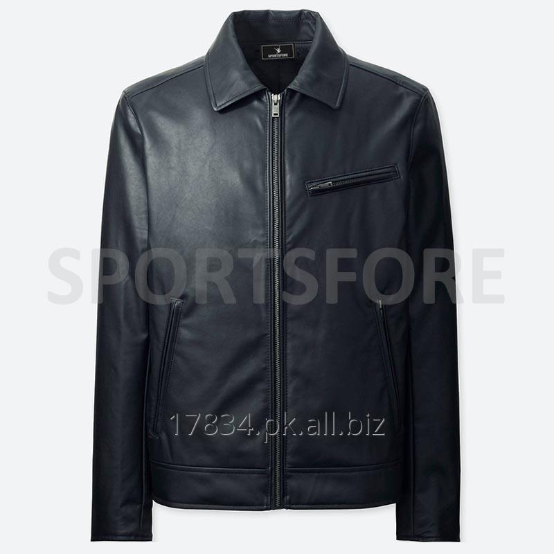 Buy Faux Leather Jacket for Men