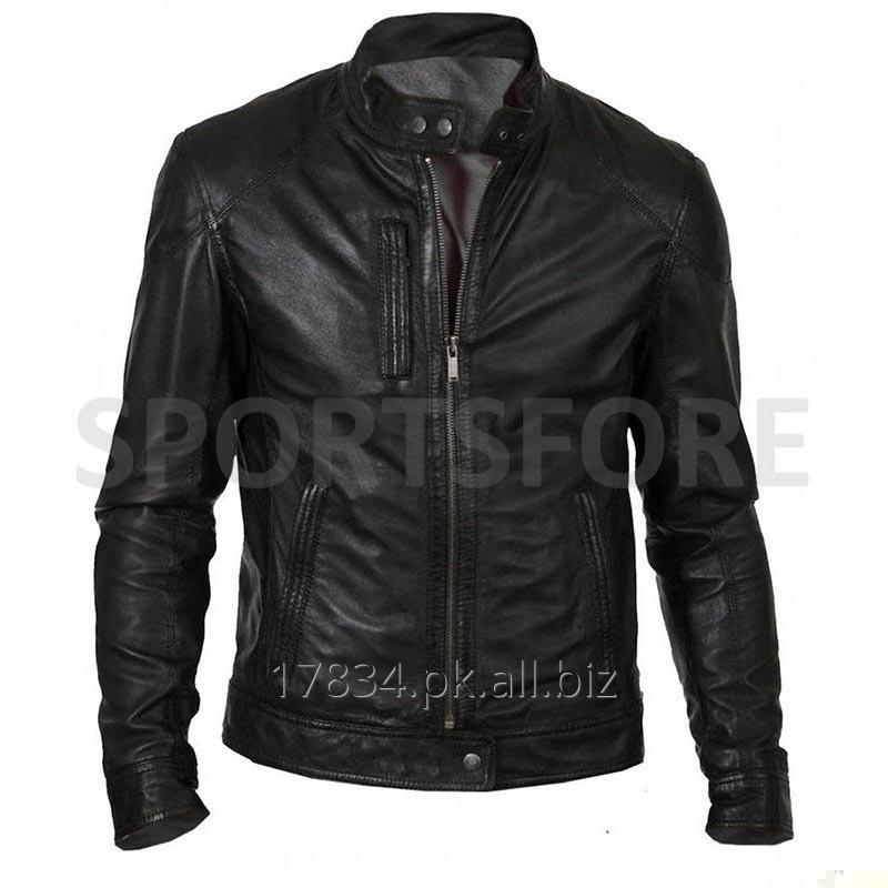 Buy Genuine Leather Jacket Man Top Quality Waterproof Windproof Leather Jacket