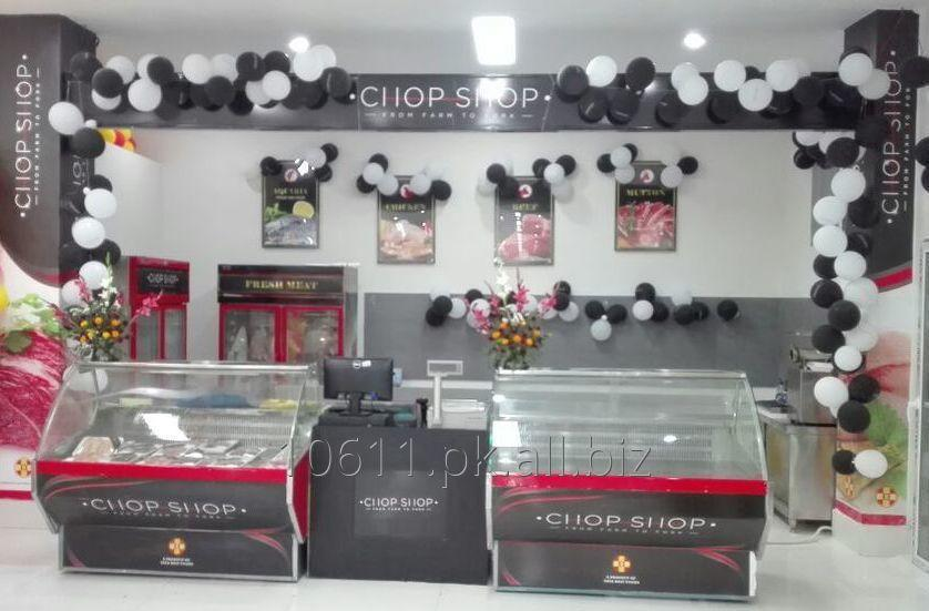 Buy Counter for Meat Display