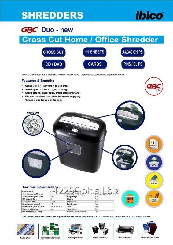Buy Paper Shredder GBC DUo