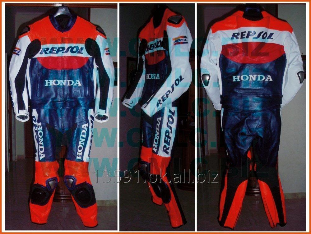 Buy REPSOL Motorbike Racing Leather Suit