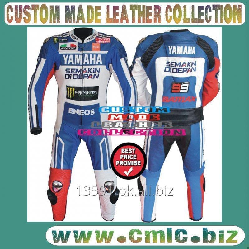 Buy YAMAHA MOTOR BIKE LEATHER RACING SUIT