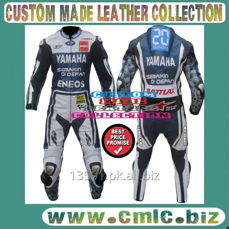 YAMAHA MOTORBIKE LEATHER SUIT