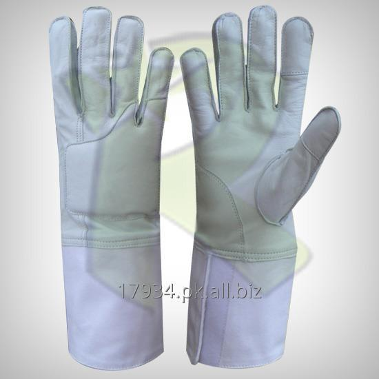 Buy Fencing Leather Gloves
