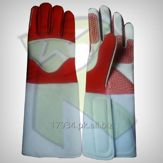Buy THREE WEAPONS FENCING GLOVES 350N CUFF