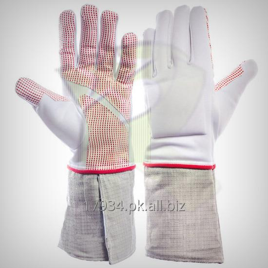 Buy Fencing 350N Lame Electric Fabric Sabre Gloves